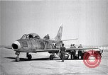 Image of F-86A speed record Muroc California USA, 1948, second 11 stock footage video 65675040231