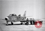 Image of F-86A speed record Muroc California USA, 1948, second 12 stock footage video 65675040231