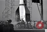 Image of American V2 rocket Cocoa Florida USA, 1950, second 10 stock footage video 65675040235