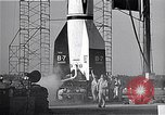 Image of American V2 rocket Cocoa Florida USA, 1950, second 12 stock footage video 65675040235