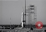 Image of American V2 rocket Cocoa Florida USA, 1950, second 8 stock footage video 65675040237