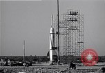 Image of American V2 rocket Cocoa Florida USA, 1950, second 9 stock footage video 65675040237