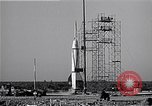 Image of American V2 rocket Cocoa Florida USA, 1950, second 10 stock footage video 65675040237