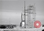 Image of V-2 rocket Cocoa Florida USA, 1950, second 10 stock footage video 65675040240