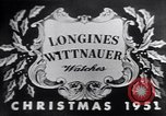 Image of Longines watch advertisement United States USA, 1951, second 2 stock footage video 65675040243