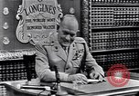 Image of General Lemuel C Shepherd Junior United States USA, 1952, second 1 stock footage video 65675040245