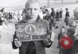 Image of young Yugoslavian boys and girls Belgrade Yugoslavia, 1945, second 1 stock footage video 65675040258