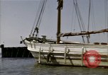 Image of boats James River Virginia USA, 1947, second 3 stock footage video 65675040283