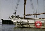 Image of boats James River Virginia USA, 1947, second 4 stock footage video 65675040283