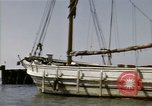Image of boats James River Virginia USA, 1947, second 6 stock footage video 65675040283
