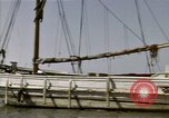 Image of boats James River Virginia USA, 1947, second 7 stock footage video 65675040283