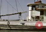 Image of boats James River Virginia USA, 1947, second 9 stock footage video 65675040283