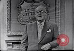 Image of Frank Knight advertising Longines watches United States USA, 1954, second 2 stock footage video 65675040290