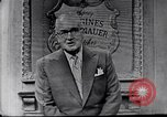 Image of Frank Knight advertising Longines watches United States USA, 1954, second 4 stock footage video 65675040290