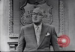 Image of Frank Knight advertising Longines watches United States USA, 1954, second 10 stock footage video 65675040290