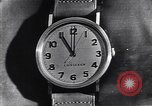 Image of Longines clock United States USA, 1951, second 3 stock footage video 65675040291