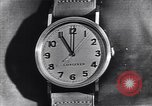 Image of Longines clock United States USA, 1951, second 5 stock footage video 65675040291
