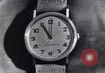 Image of Longines clock United States USA, 1951, second 6 stock footage video 65675040291