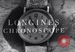 Image of Longines clock United States USA, 1951, second 8 stock footage video 65675040291