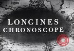Image of Longines clock United States USA, 1951, second 11 stock footage video 65675040291