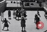 Image of girl scouts Manhattan New York City USA, 1930, second 8 stock footage video 65675040295