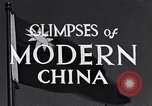Image of travel route Beijing China, 1937, second 2 stock footage video 65675040297