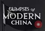 Image of travel route Beijing China, 1937, second 3 stock footage video 65675040297