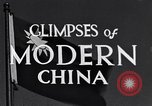 Image of travel route Beijing China, 1937, second 5 stock footage video 65675040297