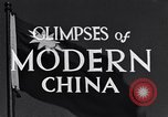 Image of travel route Beijing China, 1937, second 6 stock footage video 65675040297