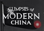 Image of travel route Beijing China, 1937, second 8 stock footage video 65675040297