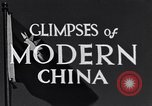 Image of travel route Beijing China, 1937, second 9 stock footage video 65675040297