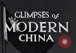 Image of travel route Beijing China, 1937, second 10 stock footage video 65675040297