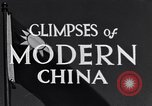Image of travel route Beijing China, 1937, second 12 stock footage video 65675040297