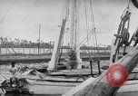 Image of Wooden perahu pinisi cargo boats under sail  Jakarta Indonesia, 1947, second 13 stock footage video 65675040309