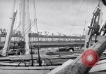 Image of Wooden perahu pinisi cargo boats under sail  Jakarta Indonesia, 1947, second 20 stock footage video 65675040309