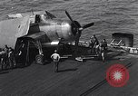 Image of TBM pilot Okinawa Ryukyu Islands, 1945, second 2 stock footage video 65675040314