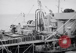 Image of USS Chara supply transfer Pacific Ocean, 1950, second 3 stock footage video 65675040317