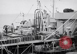 Image of USS Chara supply transfer Pacific Ocean, 1950, second 7 stock footage video 65675040317