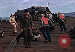 Image of flight deck operations aboard Escort Carrier USS Steamer Bay  Iwo Jima, 1945, second 8 stock footage video 65675040326