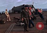 Image of flight deck operations aboard Escort Carrier USS Steamer Bay  Iwo Jima, 1945, second 9 stock footage video 65675040326