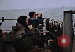 Image of Crew at work on escort carrier of Task Group 52.2  Pacific Ocean, 1945, second 3 stock footage video 65675040328