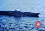 Image of USS Franklin D Roosevelt CV-42 Mediterranean Sea, 1964, second 5 stock footage video 65675040343