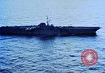 Image of USS Franklin D Roosevelt CV-42 Mediterranean Sea, 1964, second 8 stock footage video 65675040343