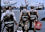 Image of USS Franklin D Roosevelt CV-42 Mediterranean Sea, 1964, second 8 stock footage video 65675040344
