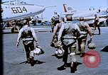 Image of USS Franklin D Roosevelt CV-42 Mediterranean Sea, 1964, second 10 stock footage video 65675040344