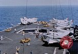 Image of USS Franklin D Roosevelt CV-42 Mediterranean Sea, 1964, second 2 stock footage video 65675040348