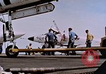 Image of USS Franklin D Roosevelt CV-42 Mediterranean Sea, 1964, second 10 stock footage video 65675040348