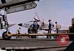Image of USS Franklin D Roosevelt CV-42 Mediterranean Sea, 1964, second 11 stock footage video 65675040348