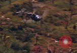 Image of AH-1G and OH-6A Helicopters Vietnam, 1968, second 8 stock footage video 65675040351