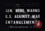 Image of Homer Truett Bone Washington DC USA, 1935, second 1 stock footage video 65675040388